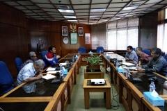 Pertemuan dengan Pimpinan PT. PAG