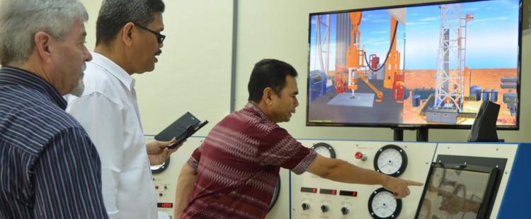 Pelatihan Drilling Simulator